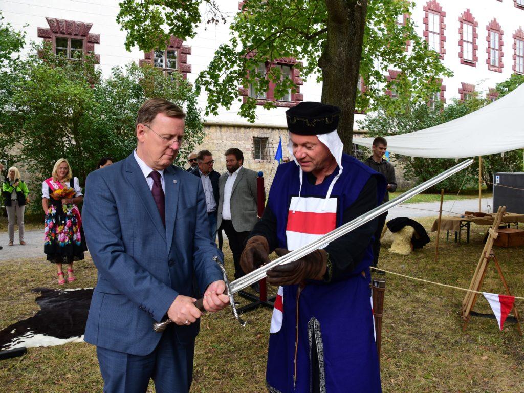 Eröffnung der Meininger Parkwelten