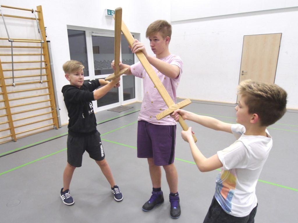 Schwertkampf für Kids MSVK -0017