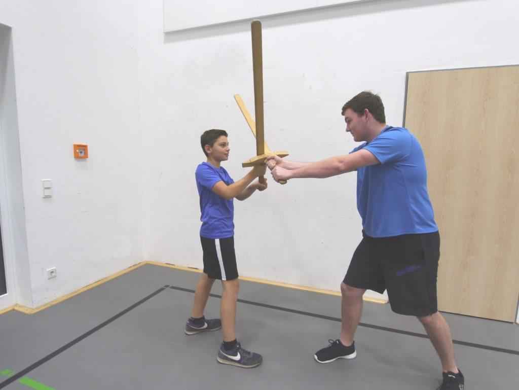 Schwertkampf für Kids MSVK -0019